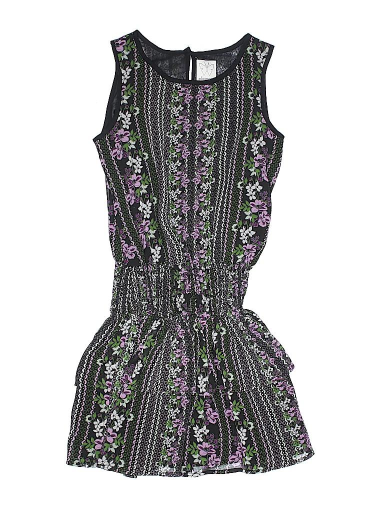 0ce3b07a3e58 Ella Moss 100% Polyester Floral Black Dress Size 10 - 88% off
