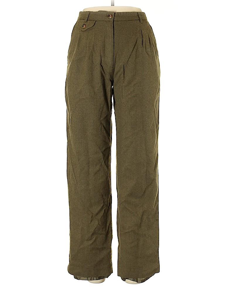 Orvis Women Wool Pants Size 10