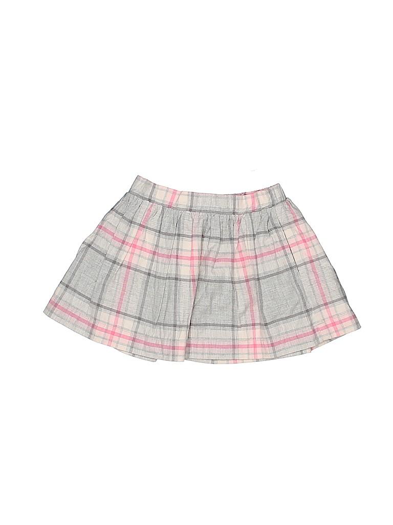 427a4febca Baby Gap 100% Cotton Plaid Gray Skirt Size 18-24 mo - 84% off | thredUP