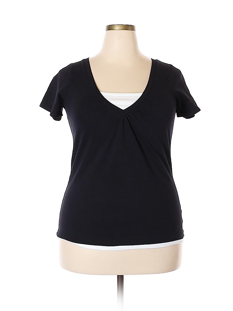 L.A. Blues Women Short Sleeve T-Shirt Size 14 - 16