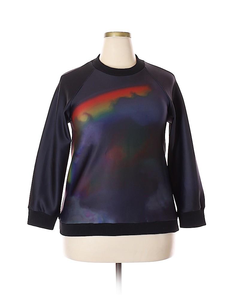 Cynthia Rowley Women Sweatshirt Size L