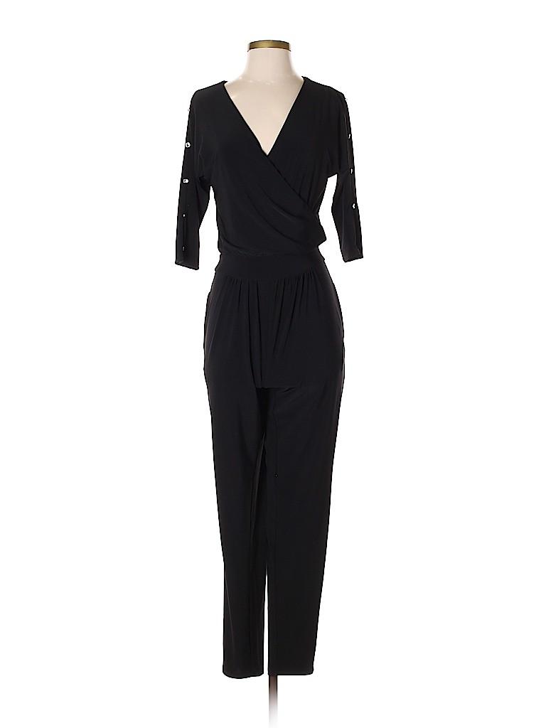 d388079b0e White House Black Market Solid Black Jumpsuit Size 00 - 78% off ...