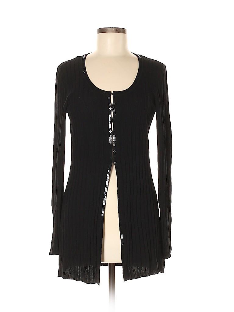 Nine West Women Silk Cardigan Size M