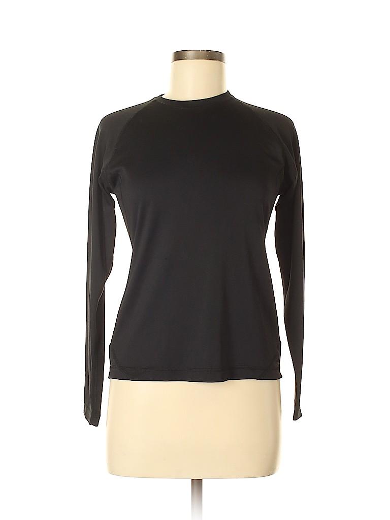 Lands' End Women Active T-Shirt Size S