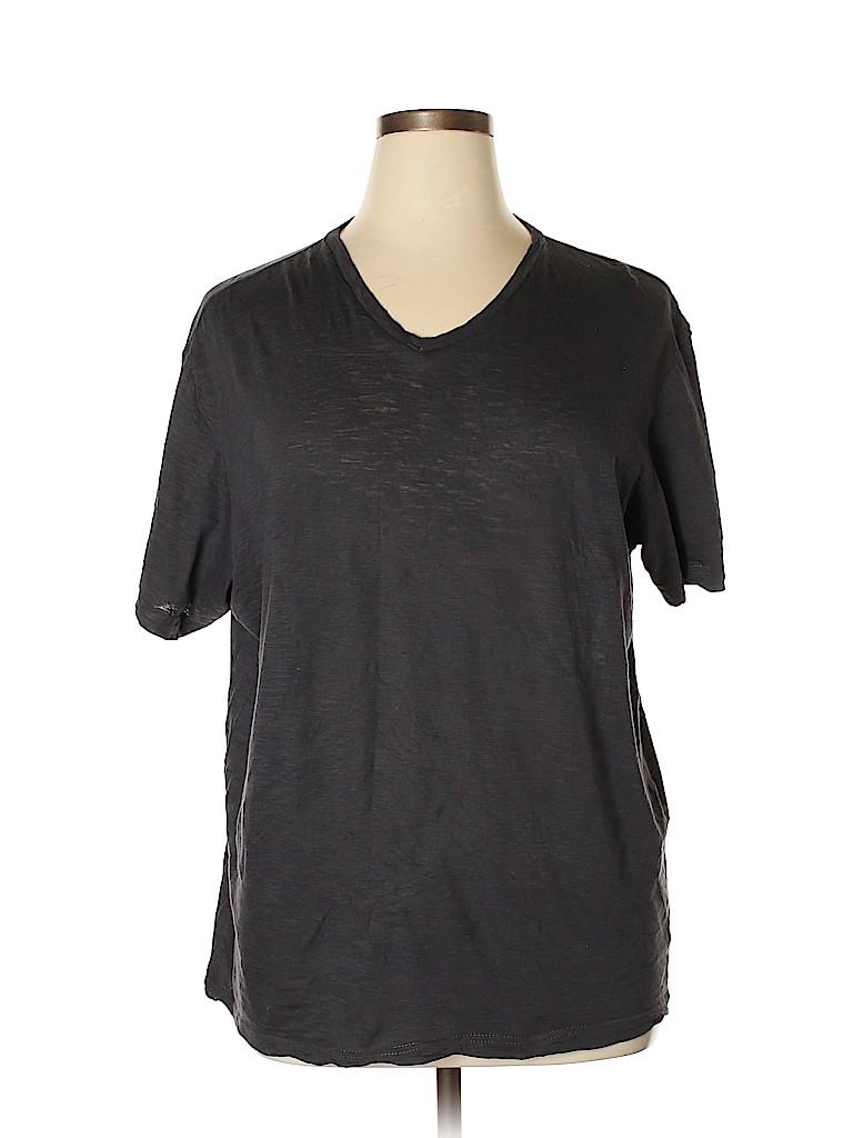 American Rag Cie Women Short Sleeve T-Shirt Size XL