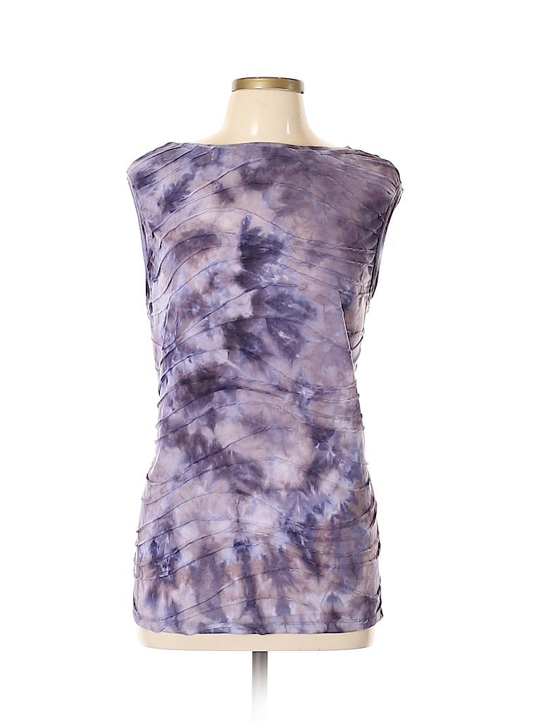 Simply Vera Vera Wang Women Short Sleeve Top Size XL