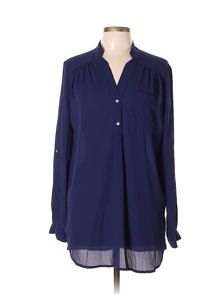 Fervour Women Long Sleeve Blouse Size L