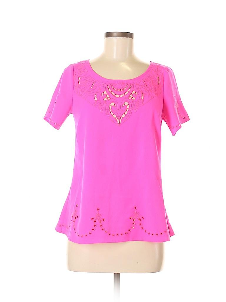 Sugarlips Women Short Sleeve Blouse Size S