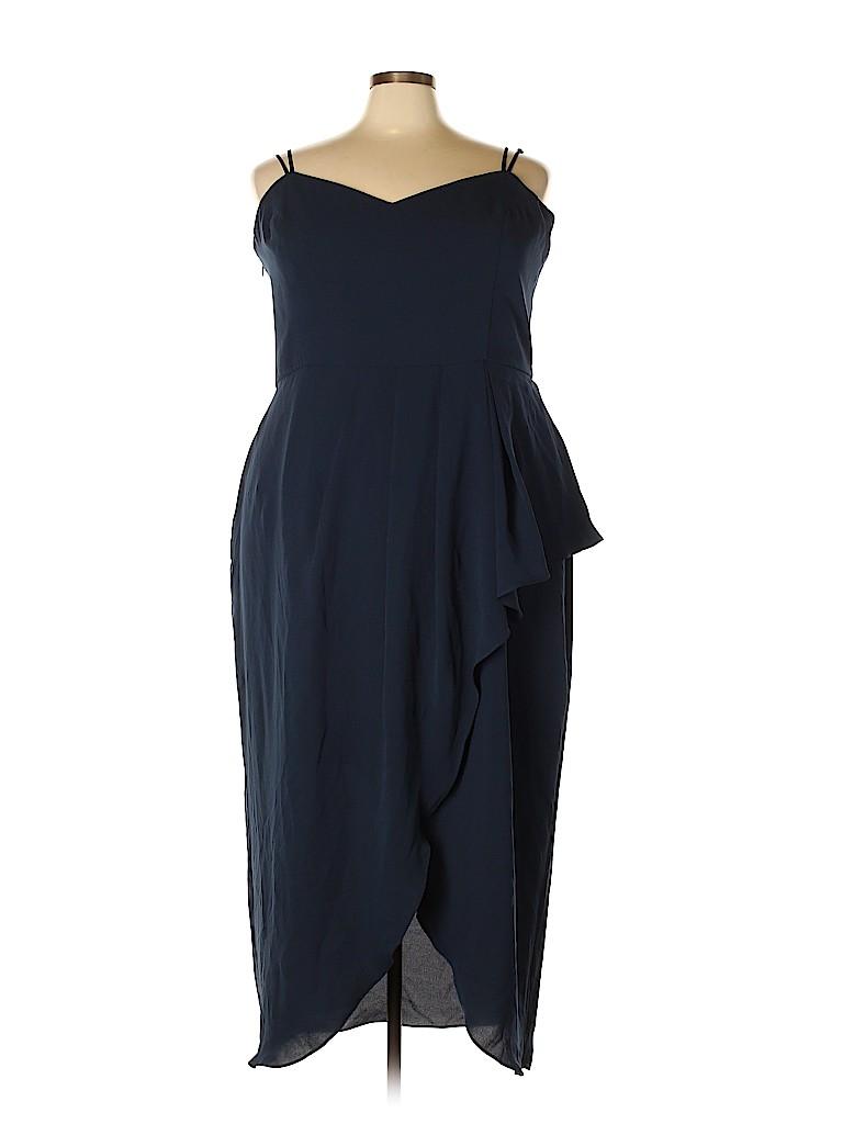 City Chic Women Cocktail Dress Size 22 Plus (XL) (Plus)