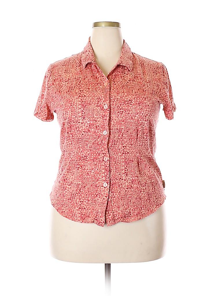 Woolrich Women Short Sleeve Top Size XL