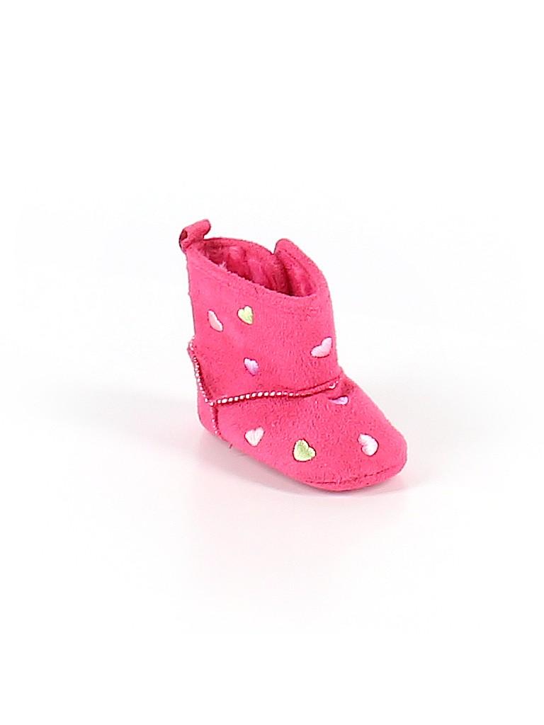ABG Baby Girls Booties Size 3-6 mo