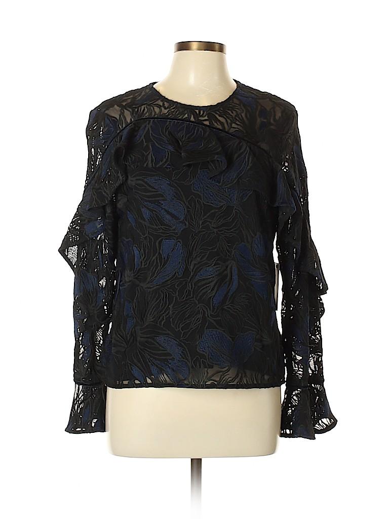 Prose & Poetry Women Long Sleeve Blouse Size L