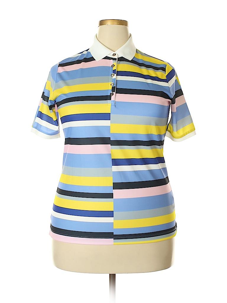Bogner Women Short Sleeve Polo Size XL