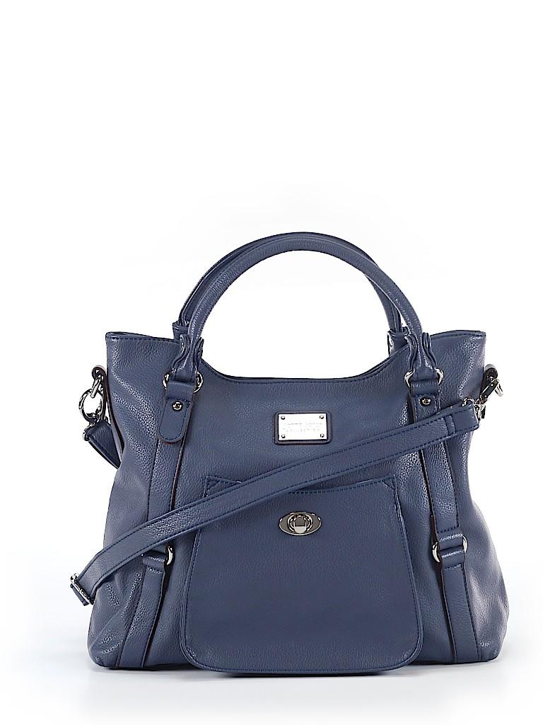 cbe296296480 Jenna Kator Collection Navy Blue Satchel One Size - 68% off