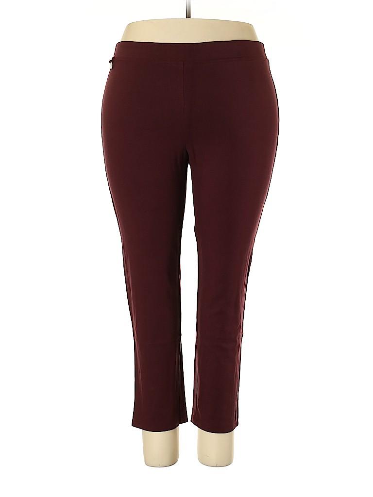 Zac & Rachel Women Casual Pants Size 2X (Plus)