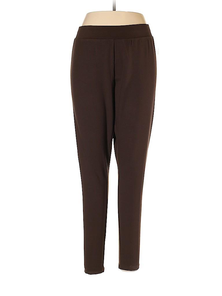 Catherines Women Leggings Size 1X (Plus)