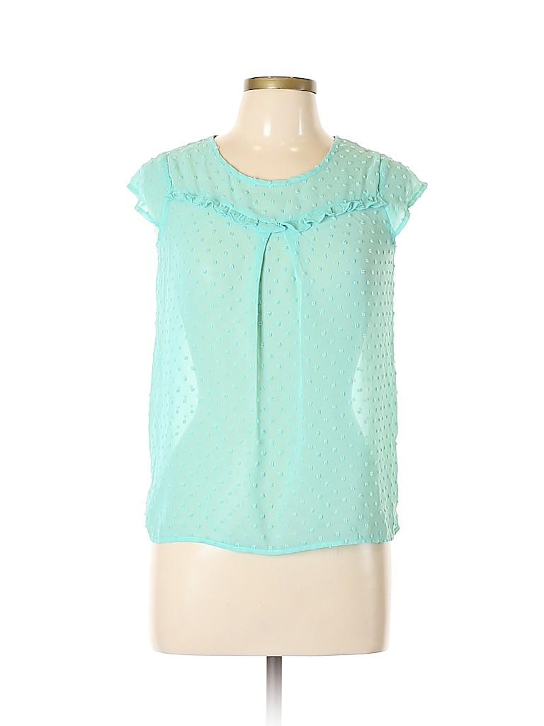 Speechless Women Short Sleeve Blouse Size XL