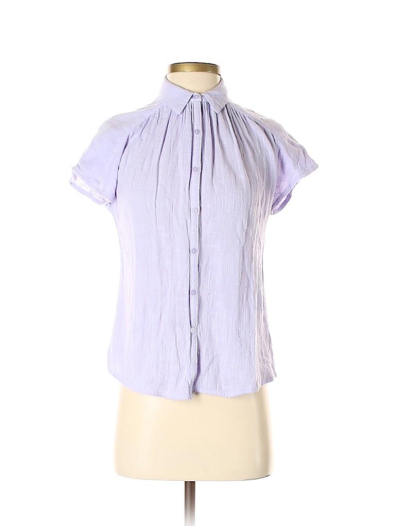 Universal Thread Women Short Sleeve Button-Down Shirt Size XS