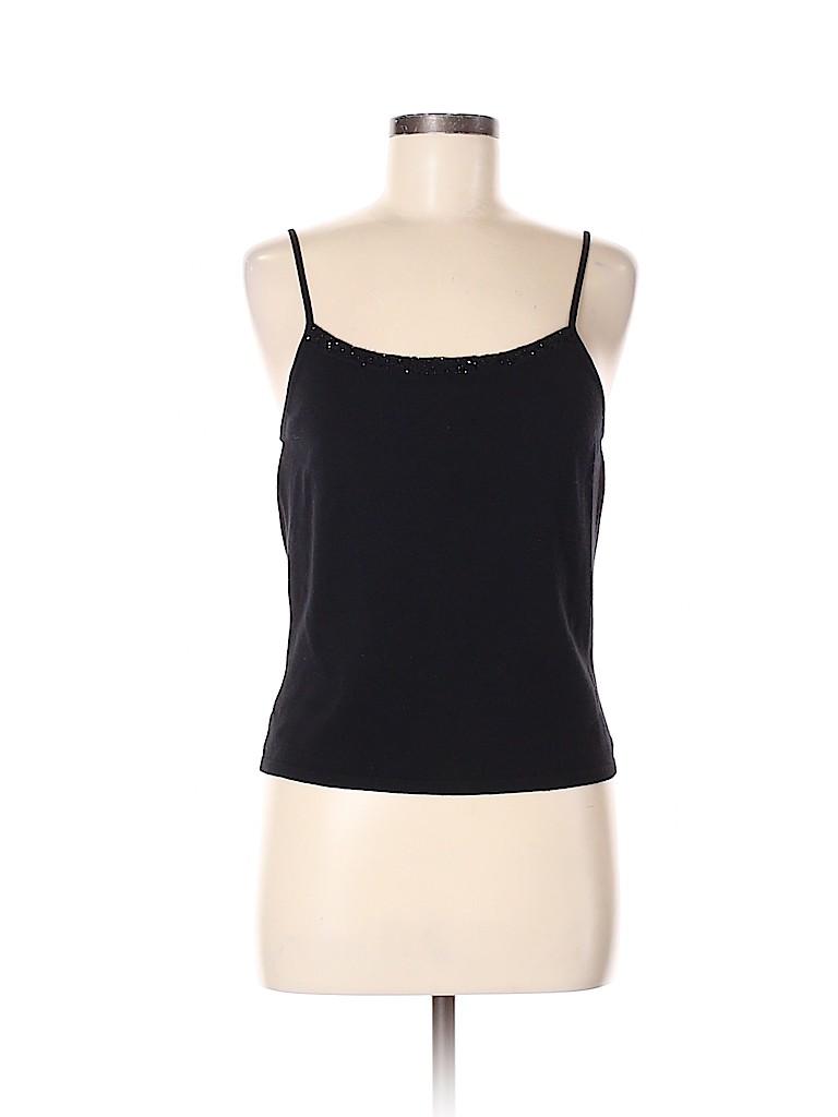 Ann Taylor Women Sleeveless Silk Top Size M