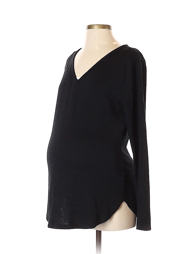 Gap - Maternity Women Long Sleeve T-Shirt Size S (Maternity)