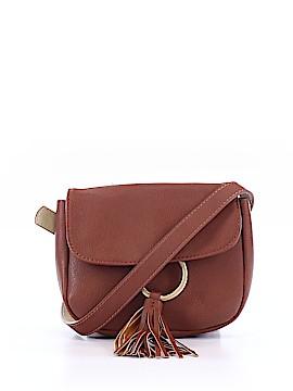 f37e0e0377c INC International Concepts Leather Crossbody Bag One Size