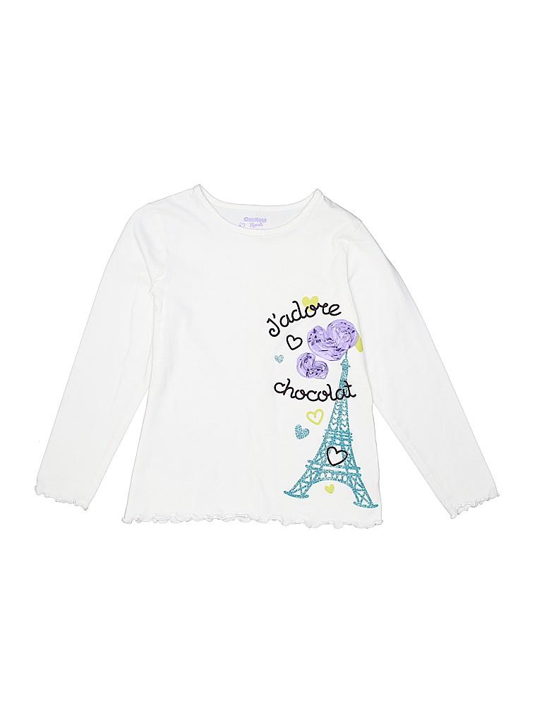 OshKosh B'gosh Girls Long Sleeve T-Shirt Size 6