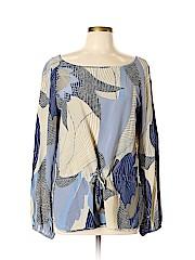 Max Mara Long Sleeve Silk Top