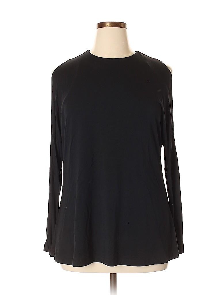 Tart Women Long Sleeve T-Shirt Size 1X (Plus)