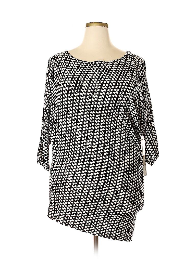 Tart Women 3/4 Sleeve Top Size 1X (Plus)