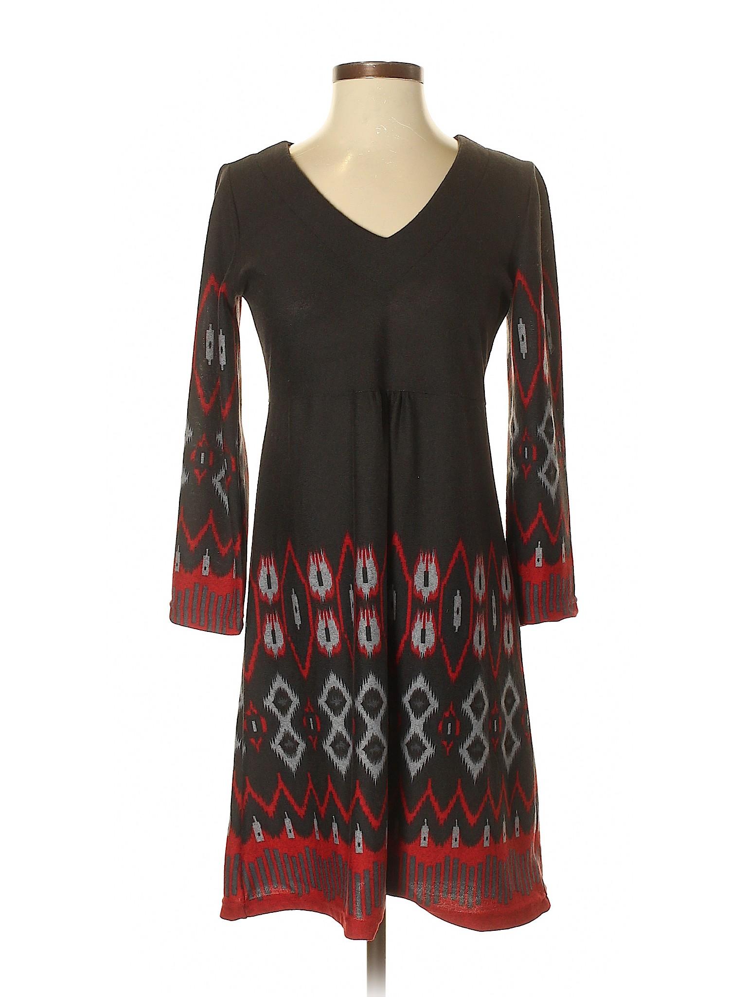 deb6d739e9fc Earthbound Trading Co. Women Black Casual Dress Sm | eBay