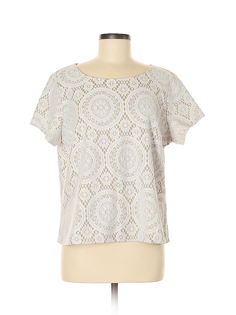 Tacera Women Short Sleeve Top Size XL