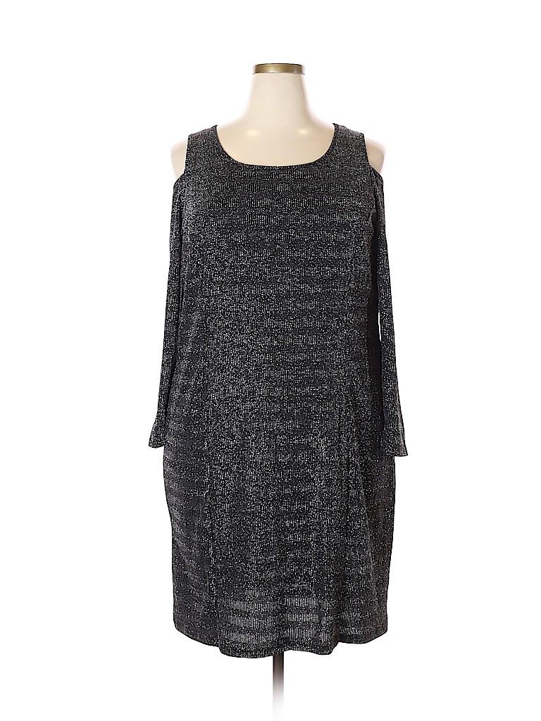 Women's Collection Women Casual Dress Size 2X (Plus)