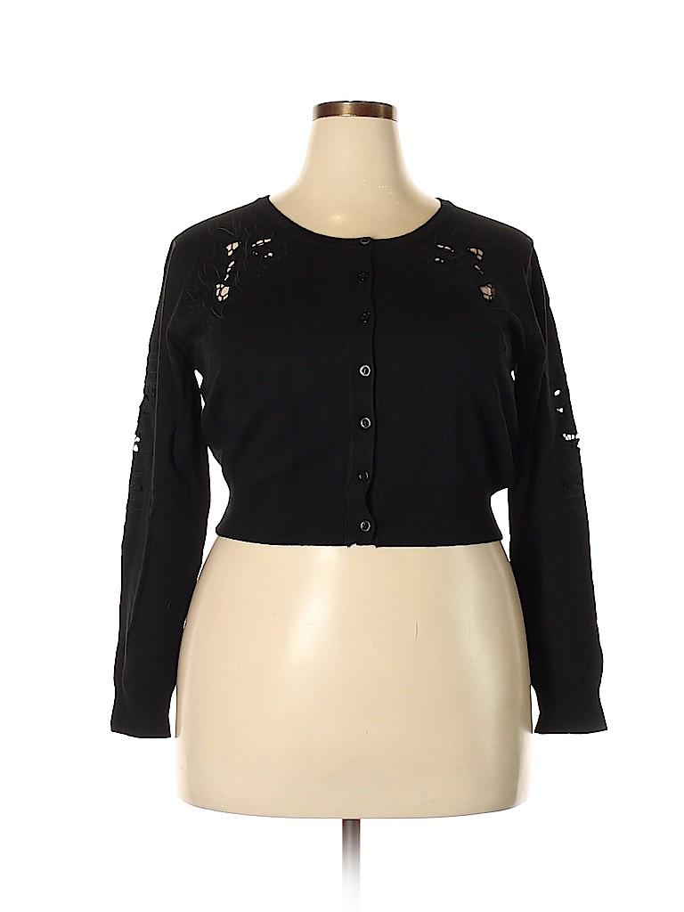 City Chic Women Cardigan Size 16 Plus (S) (Plus)