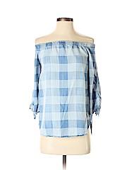 Side Stitch 3/4 Sleeve Top