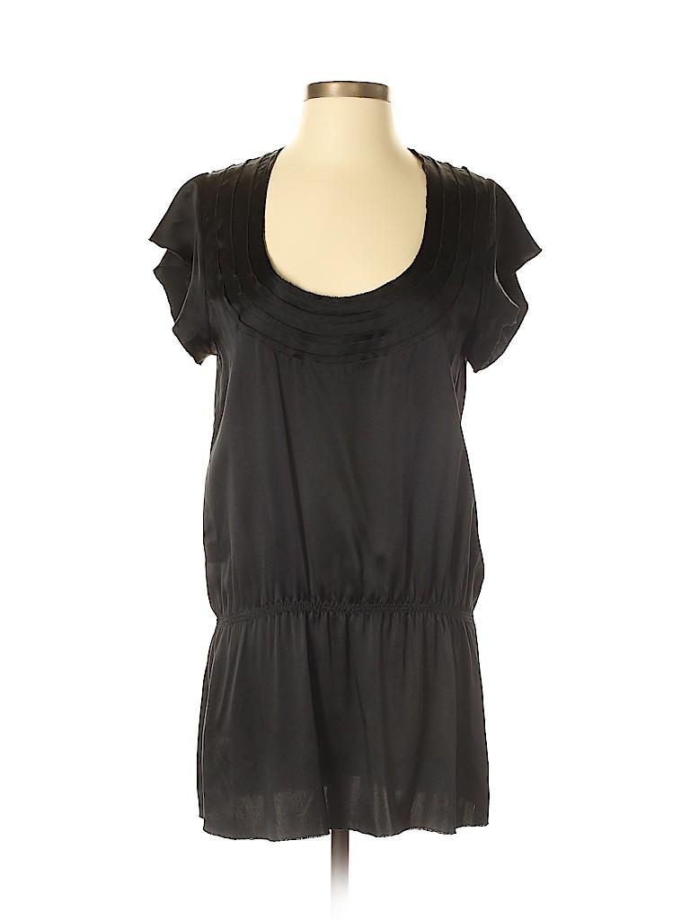 Thakoon Women Short Sleeve Silk Top Size 4