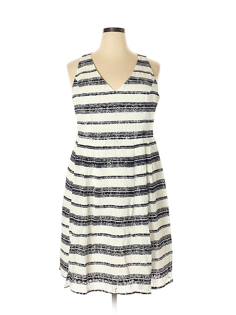 City Chic Women Casual Dress Size 18 (M) (Plus)