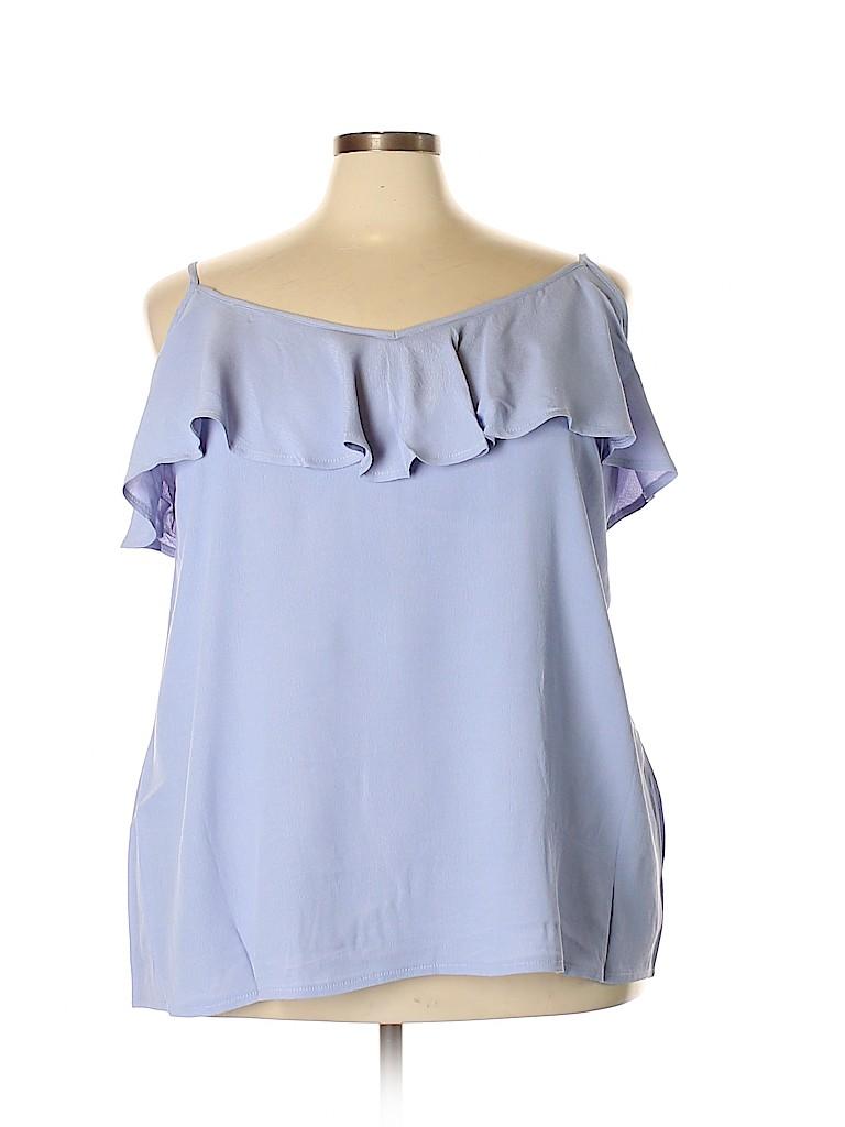 City Chic Women Sleeveless Blouse Size 22 Plus (XL) (Plus)