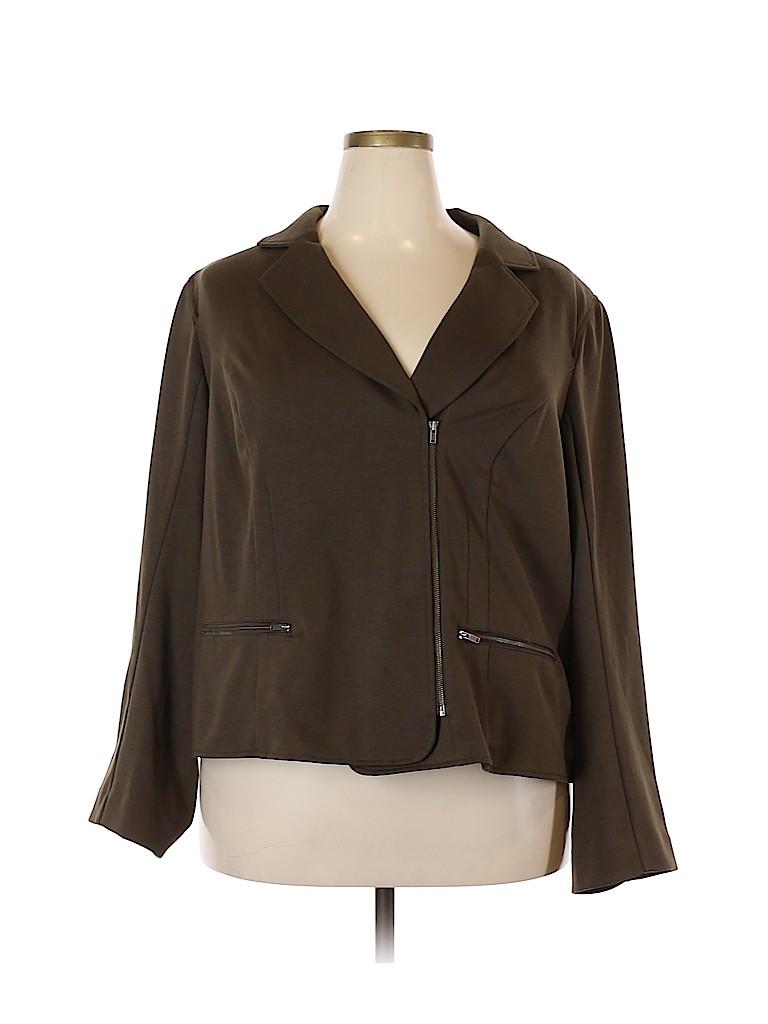Lane Bryant Women Jacket Size 26 (Plus)
