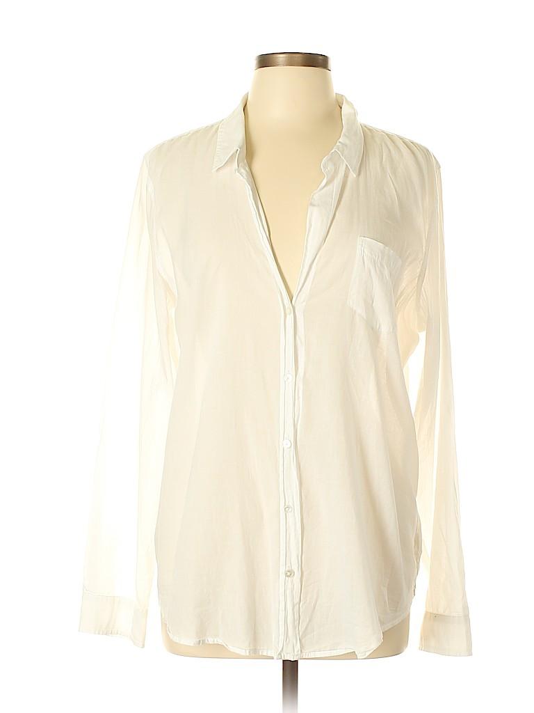 Lilly Pulitzer Women Long Sleeve Button-Down Shirt Size XL