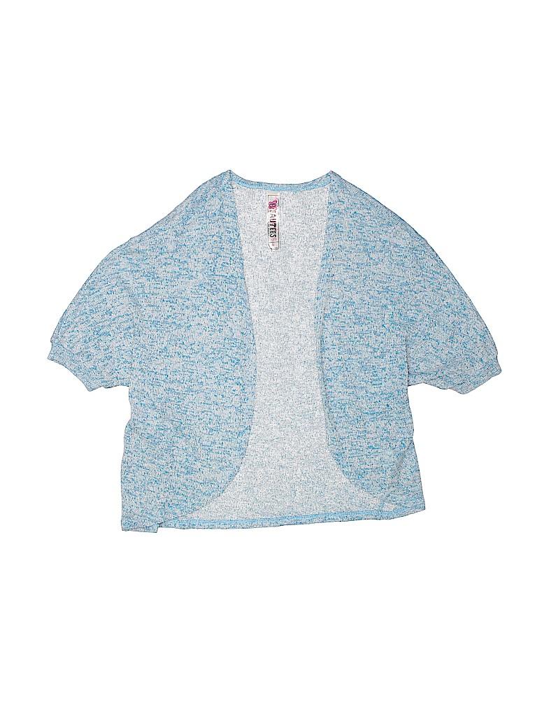 Beautees Girls Cardigan Size X-Large (Youth)