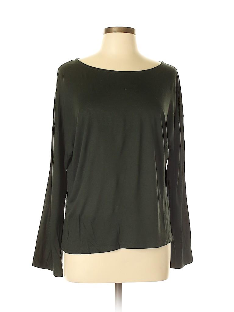 Madewell Women Long Sleeve T-Shirt Size XL