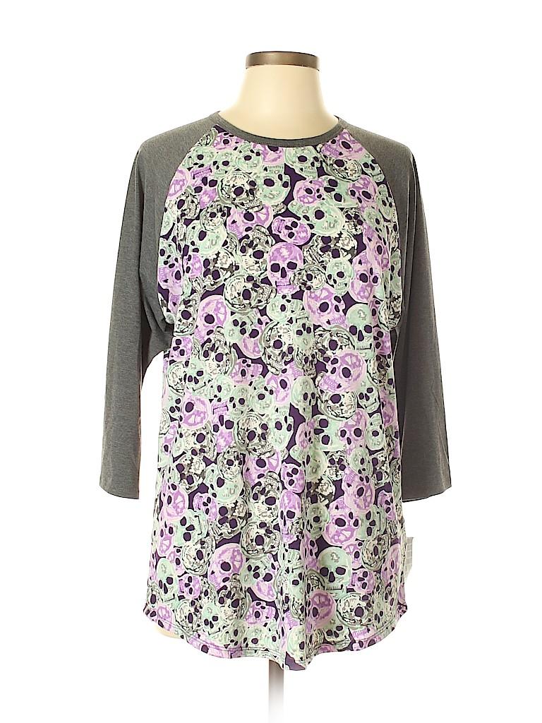 Lularoe Women 3/4 Sleeve T-Shirt Size XL