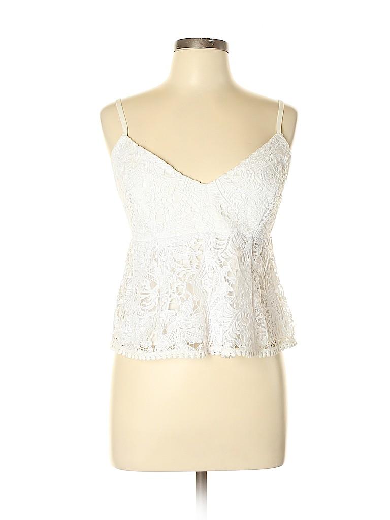 BCBGMAXAZRIA Women Sleeveless Blouse Size L