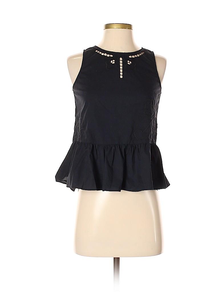 Madewell Women Sleeveless Blouse Size XXS