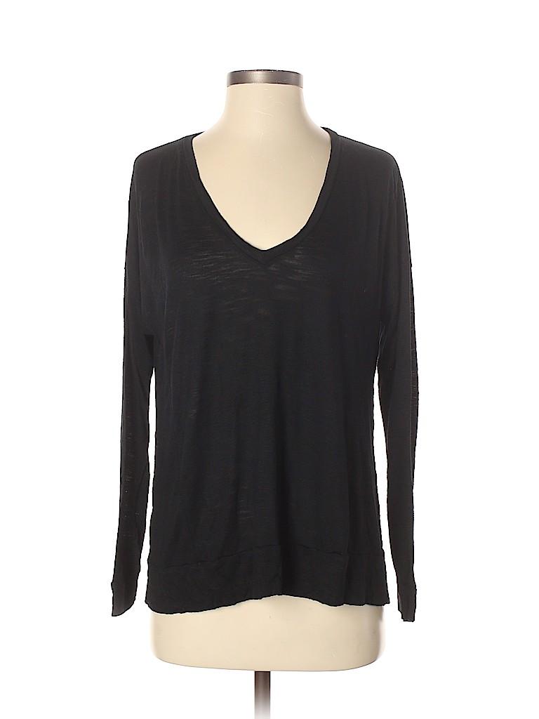 Madewell Women Long Sleeve T-Shirt Size S