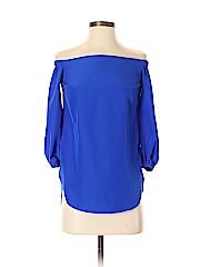 Amanda Uprichard 3/4 Sleeve Blouse