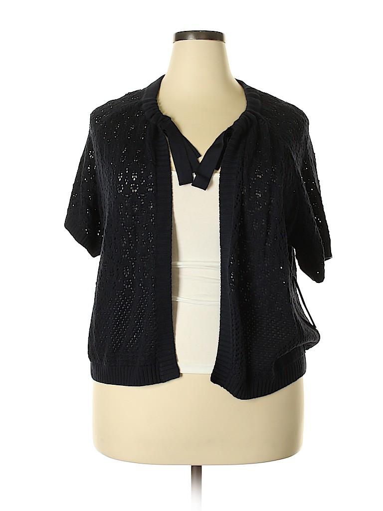 Tahari Women Cardigan Size 2X (Plus)