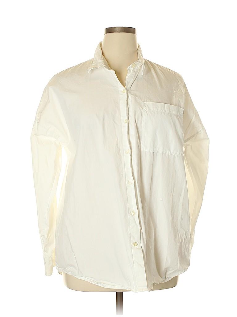 Talbots Women Long Sleeve Button-Down Shirt Size XL
