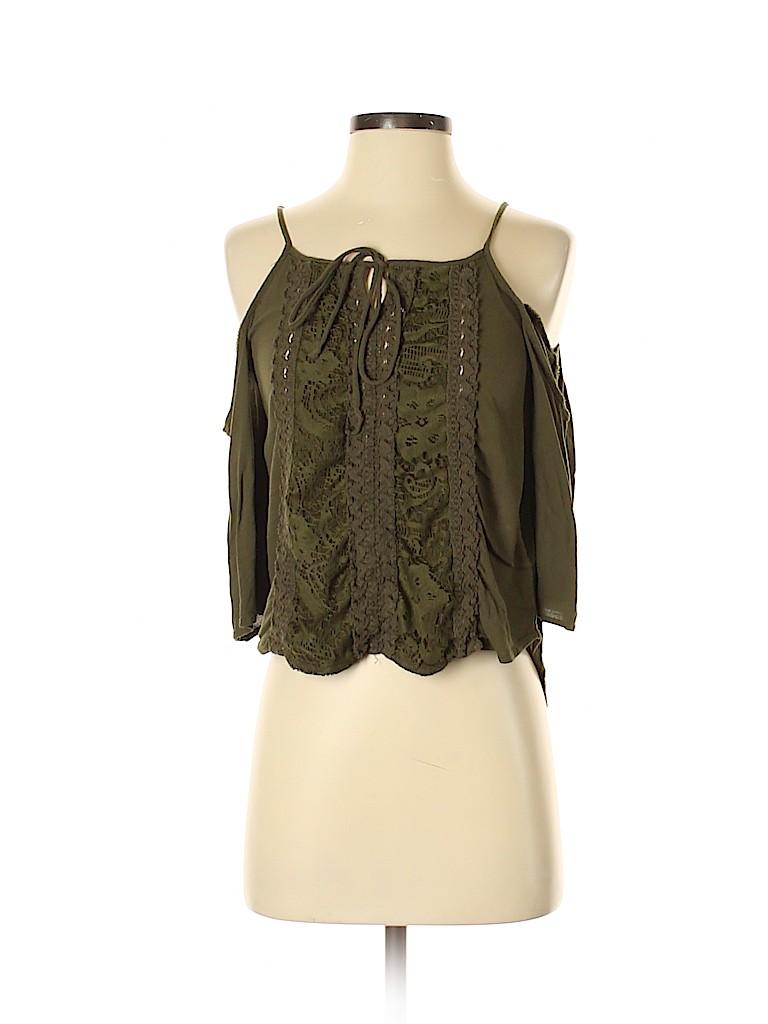Xhilaration Women 3/4 Sleeve Blouse Size S