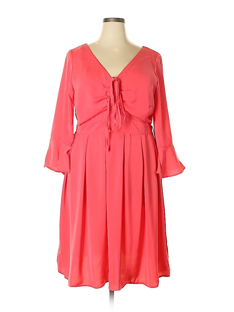 ELOQUII Women Casual Dress Size 18 (Plus)